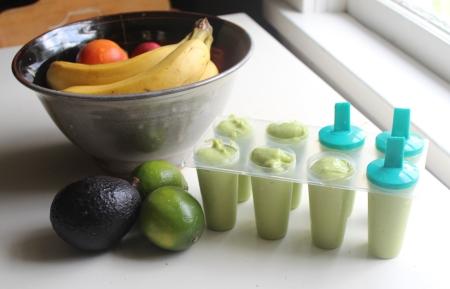 Greenia Colada Pops